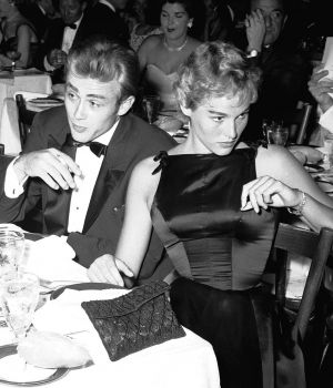 James Dean & Ursula Andress, 1955 by