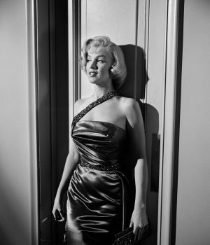 "Marilyn Monroe in How to Marry a Millionaire"" dress (b) 1953 by"