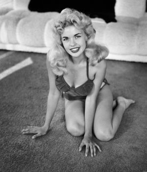 A Playful Jayne Mansfield by