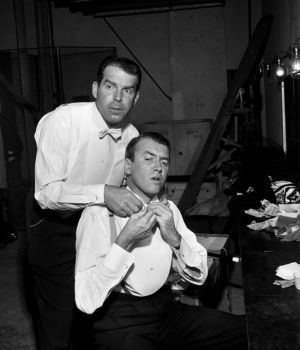 Fred McMurray & Jimmy Stewart  by