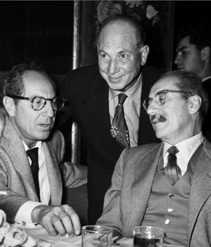 Groucho, Harpo and Zippo Marx   by