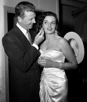 Dan Daily & Jane Russell, 1953 by