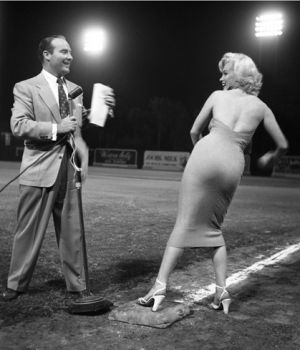 Marilyn Monroe & Ralph Edwards by
