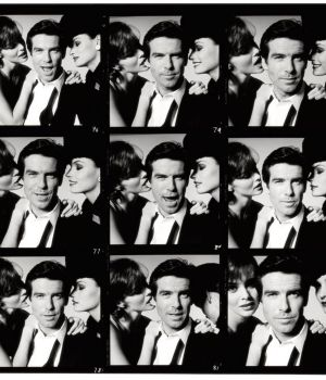 Pierce Brosnan Contact Sheet  by