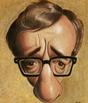 Woody Allen by Dan Springer