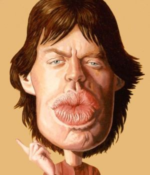 Mick Jagger                                                                                                                     . by