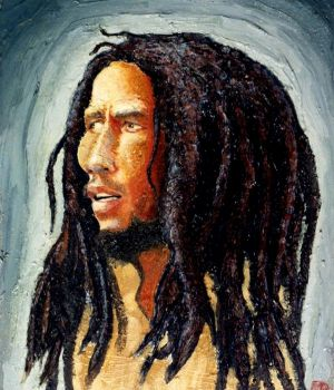 Bob Marley by Dan Springer