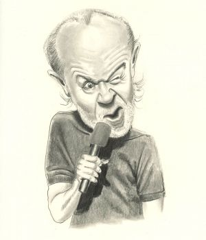 George Carlin by
