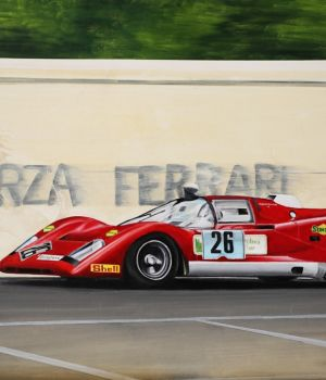 Pedro Rodriguez, Ferrari 512M, July 1971 by