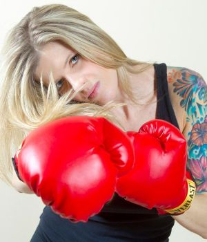 Boxing Girl by
