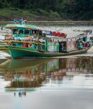 Transport on the River by