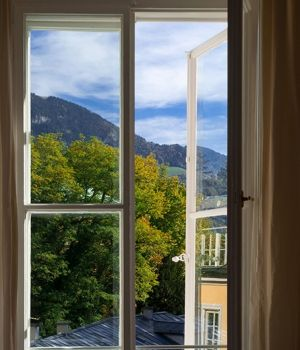 Window View, Salzburg by Tom Artin