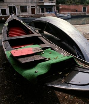 Gondola Boat Shop, Venice by