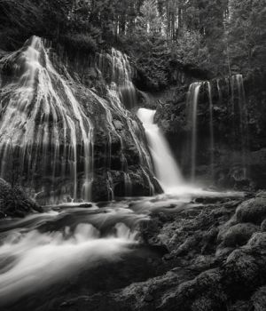Panther Creek falls B by