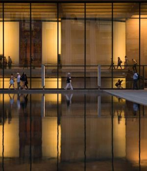 A Summer's Night at the Lincoln Center 3 by Viet Chu