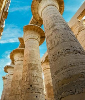 Columns of Karnak, Egypt by