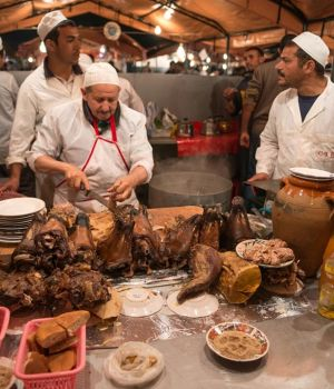 Marrakesh Butcher and Crew, Morocco by