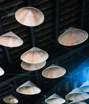 Unidentified Flying Conical Hats, Vietnam by