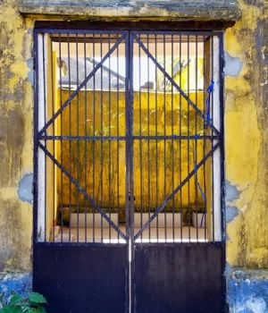 Rustic Hoi An gate, Vietnam by