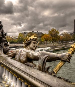 Pont Alexandre III in Autumn, Paris 2015 by