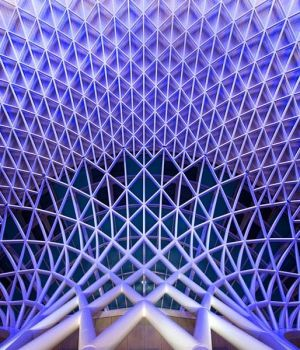 King's Cross Geometry, London 2016 by