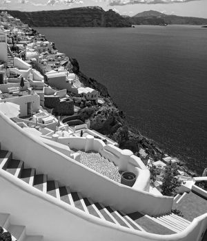 Heavenly Descent Santorini 2016 by