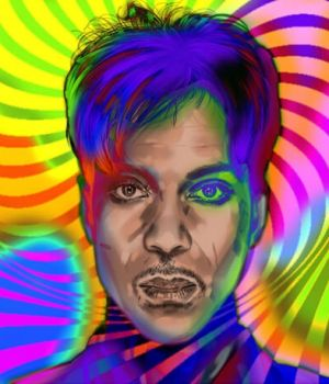 Prince - Pop Art by