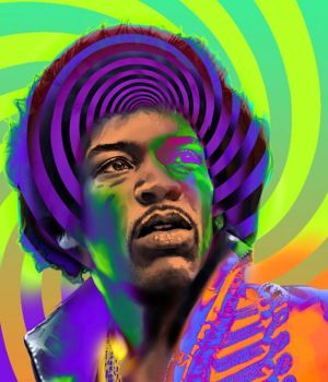 Jimi Hendrix by